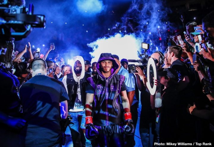 Latest Óscar Valdez Shakur Stevenson Top Rank Boxing Valdez vs. Stevenson