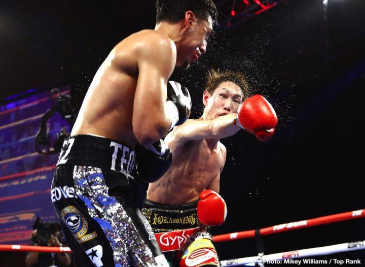 Latest Lopez vs. Nakatani Masayoshi Nakatani Teofimo Lopez