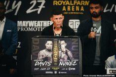 - Latest Gervonta Davis Roman Martinez Corrales vs. Miller Davis vs. Nunez Gamboa vs. Martinez Jezzrel