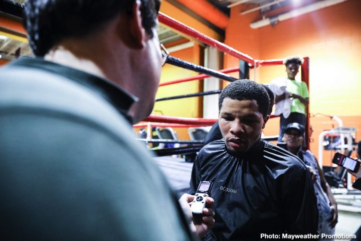 "- Latest Gervonta Davis Davis vs. Nunez Ricardo ""Científico"" Núñez Showtime World Championship Boxing"