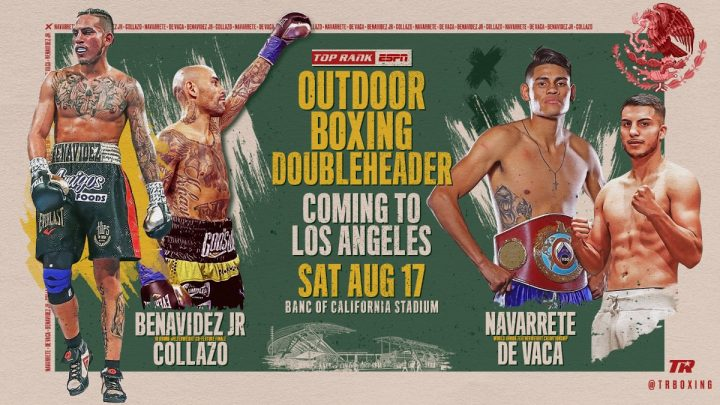 - Latest Luis Collazo ESPN Jose Benavidez Jr. Top Rank Boxing