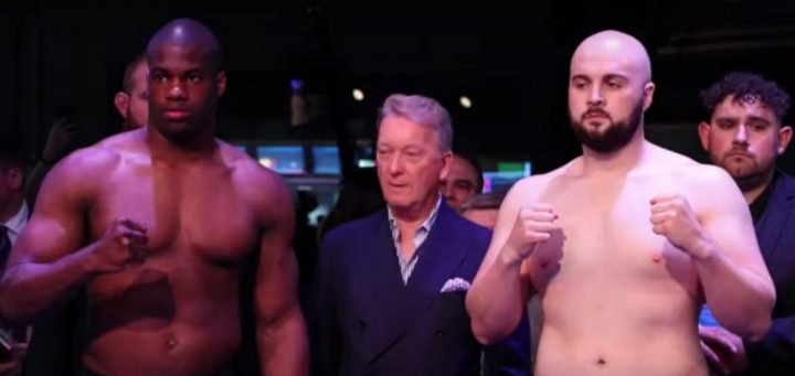- Latest Daniel Dubois Dubois vs. Gorman Nathan Gorman