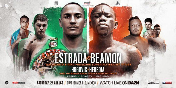 Latest DAZN Dewayne Beamon Estrada vs. Beamon Juan Francisco Estrada Matchroom Boxing