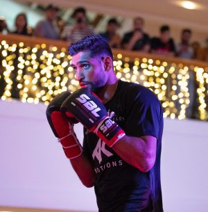 Amir Khan ready to wait until crowds come back