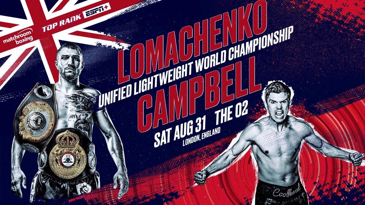 Vasyl Lomachenko Lomachenko vs. Campbell Luke Campbell