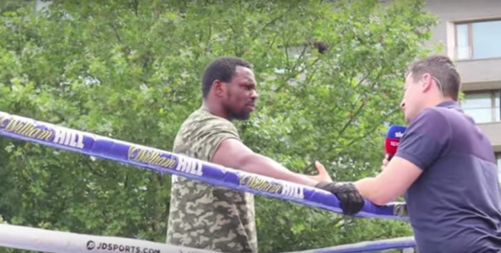 Deontay Wilder Tyson Fury DAZN Dillian Whyte Oscar Rivas Sky Box Office Whyte vs. Rivas