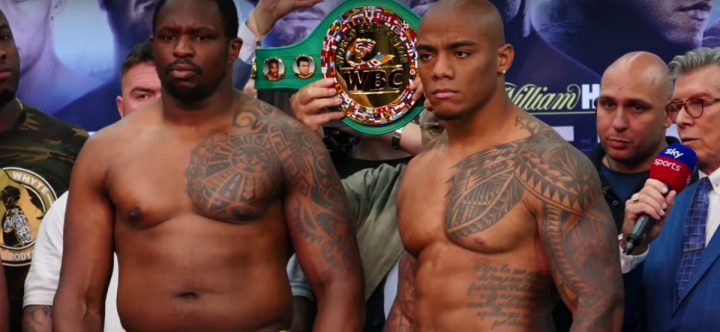 - Latest Dillian Whyte Oscar Rivas Whyte vs. Rivas