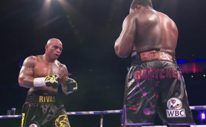 Deontay Wilder Dillian Whyte Oscar Rivas Whyte vs. Rivas