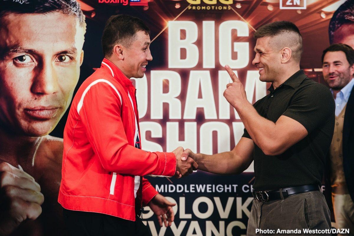 Gennady Golovkin DAZN Golovkin vs. Derevyanchenko Johnathon Banks Sergiy Derevyanchenko