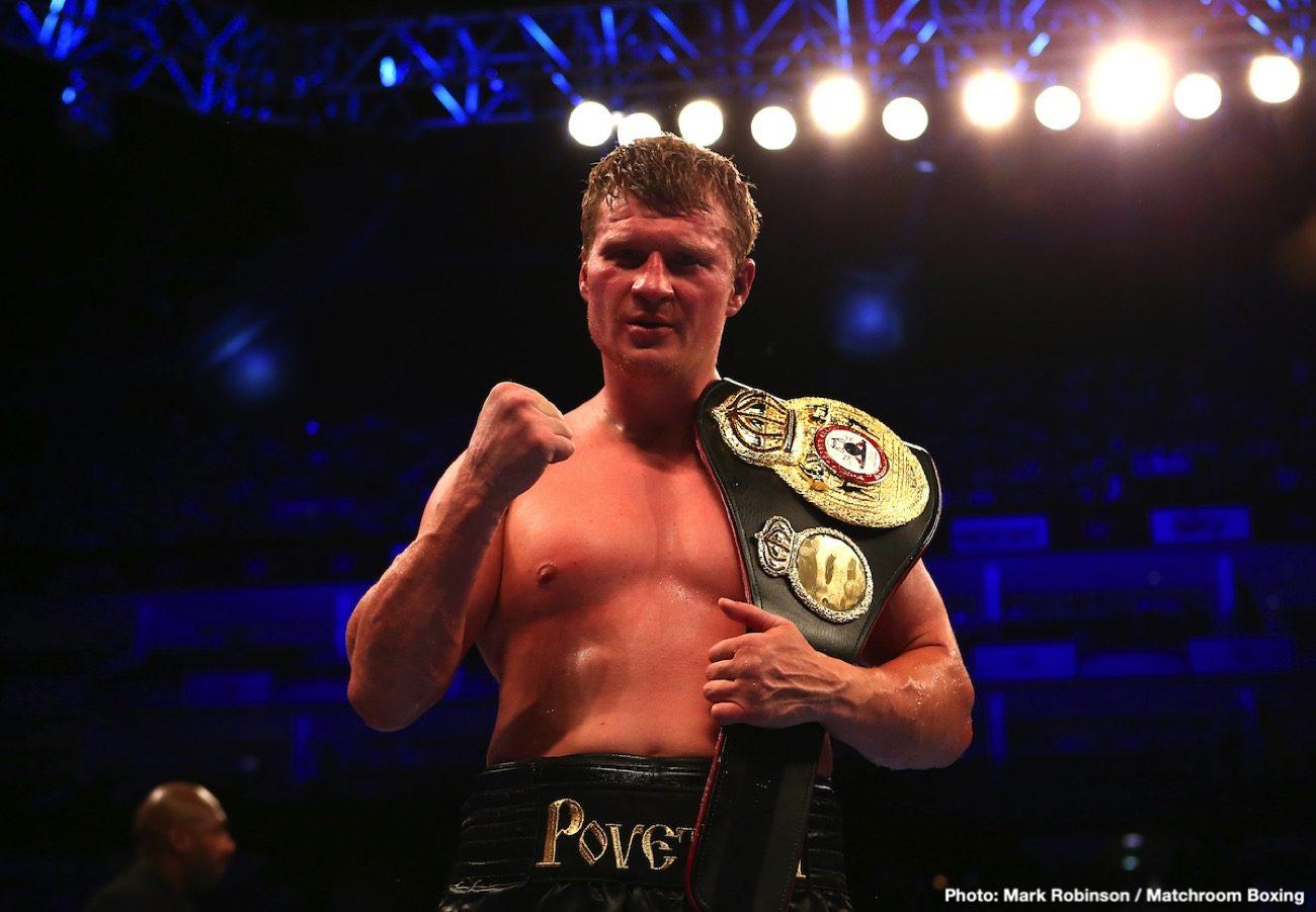 Alexander Povetkin Tyson Fury