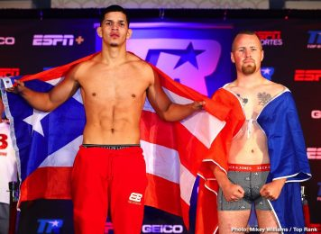 Jason Sosa vs  Lydell Rhodes ESPN+ Official Weigh In Results