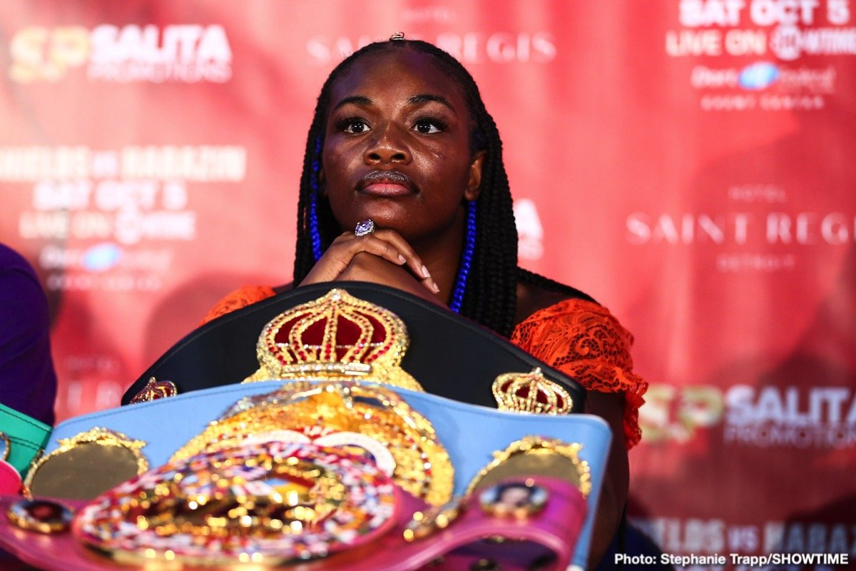 - Latest Claressa Shields Savannah Marshall