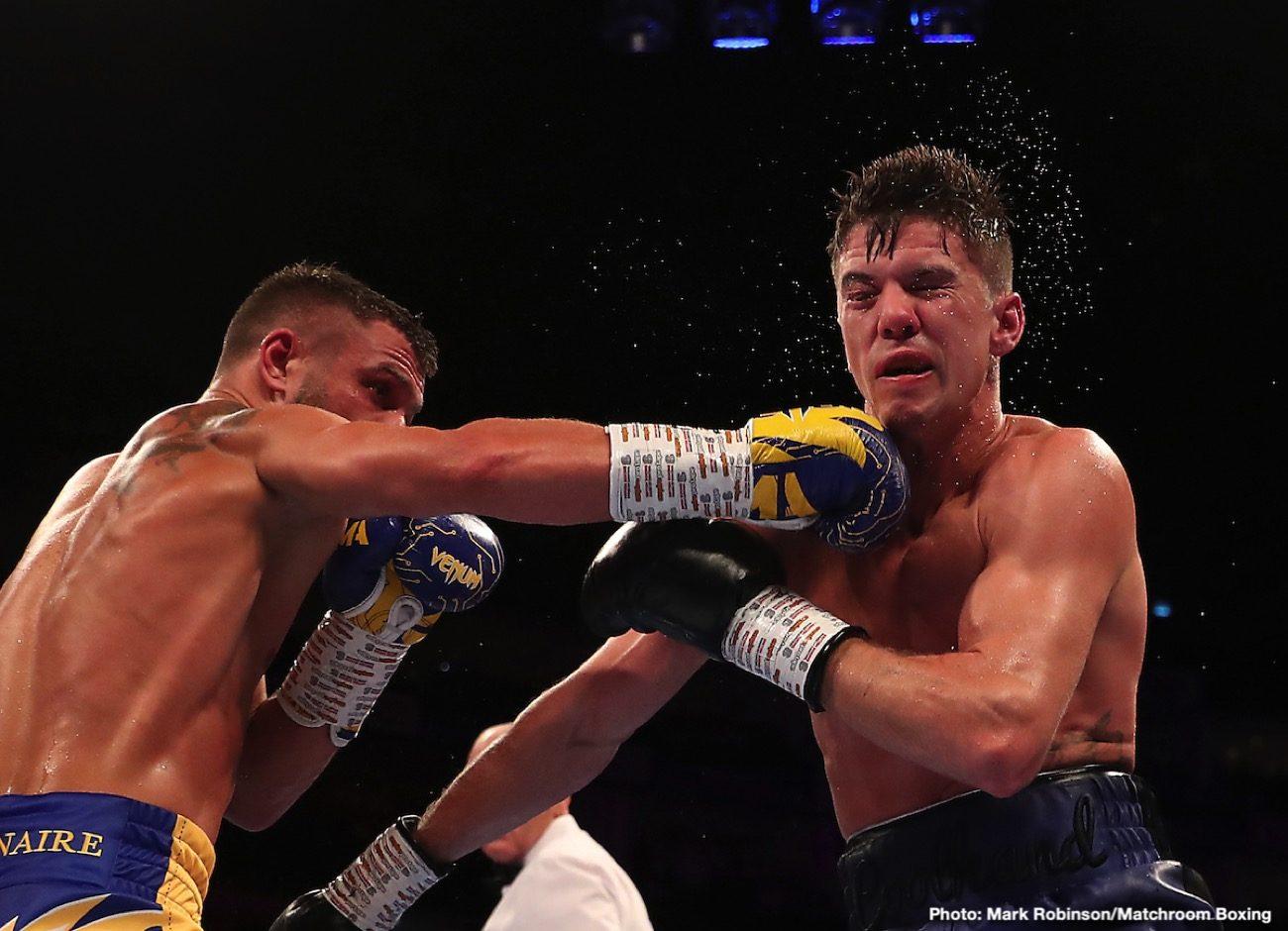 Alexander Povetkin Vasyl Lomachenko Charlie Edwards Hughie Fury Julio Cesar Martinez Lomachenko vs. Campbell Luke Campbell Povetkin vs. Fury