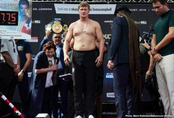 Alexander Povetkin Vasyl Lomachenko Charlie Edwards Hughie Fury Joshua Buatsi Luke Campbell Povetkin vs. Fury