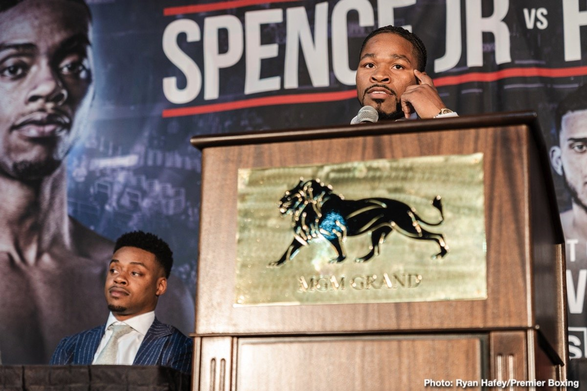 Errol Spence Jr Shawn Porter FOX Sports PPV Spence vs. Porter
