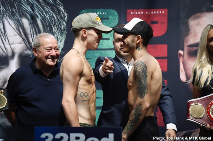 WATCH LIVE: Michael Conlan vs Diego Alberto Ruiz Weigh In