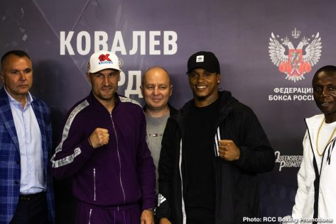 - Latest Sergey Kovalev Anthony Yarde Kovalev vs. Yarde