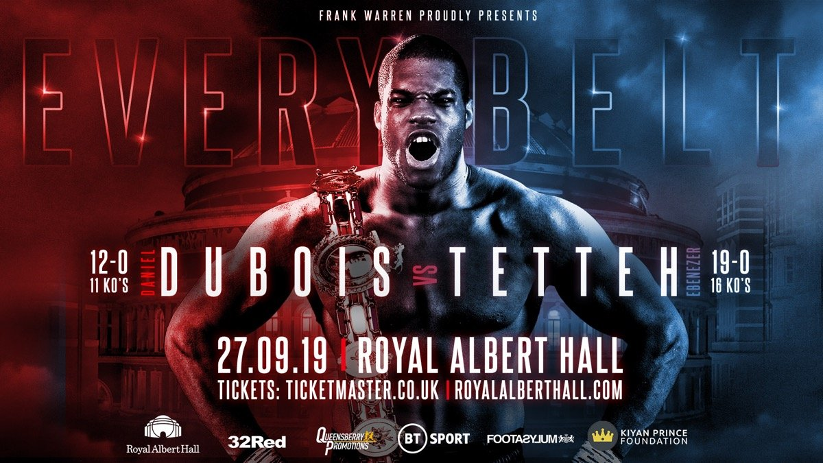 - Latest Daniel Dubois Dubois vs. Tetteh