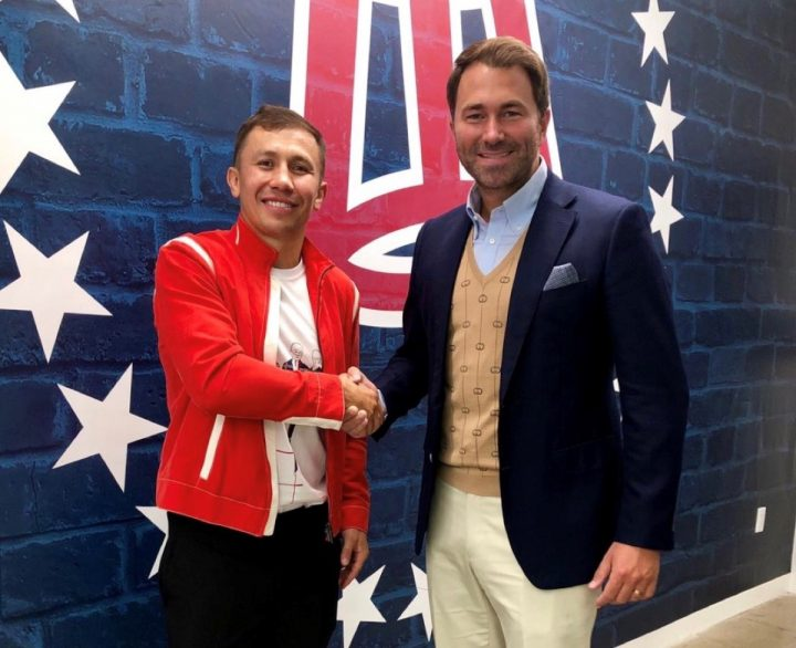 GGG Promotions and Matchroom Boxing USA team up to promote