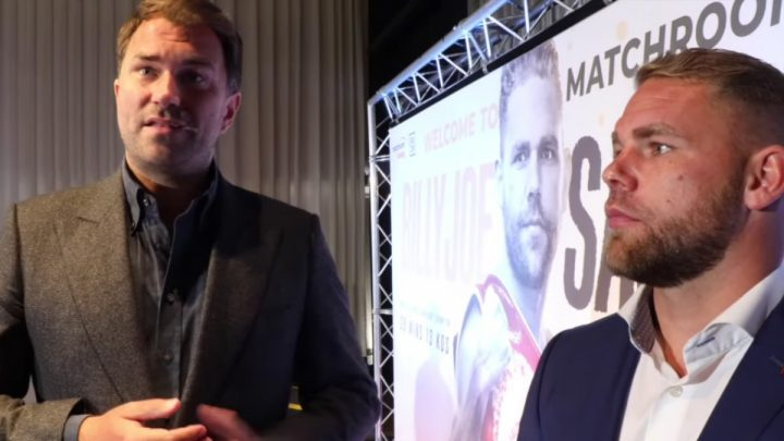 Billy Joe Saunders Canelo Alvarez Chris Eubank Jr Gennady Golovkin DAZN Eddie Hearn Matchroom Boxing