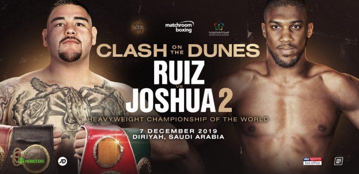 Anthony Joshua Andy Ruiz Joshua vs Ruiz