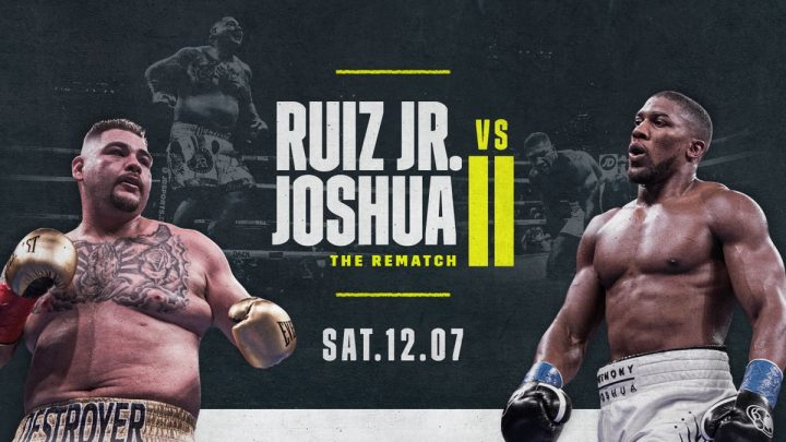 Anthony Joshua Andy Ruiz Joshua vs Ruiz Rob McCracken