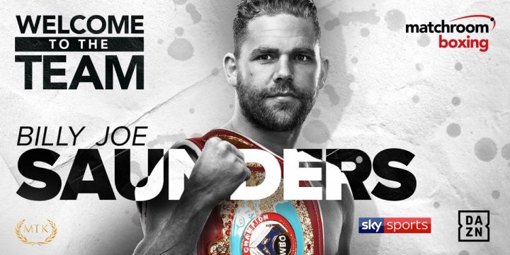 - Latest Billy Joe Saunders Matchroom Boxing