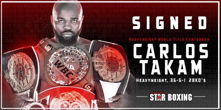 - Latest Carlos Takam Star Boxing