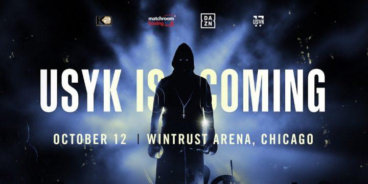 Aleksandr Usyk DAZN Eddie Hearn Matchroom Boxing USA