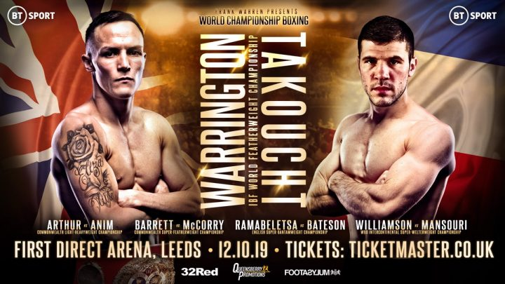 Latest Josh Warrington Sofiane Takoucht Warrington vs. Takoucht