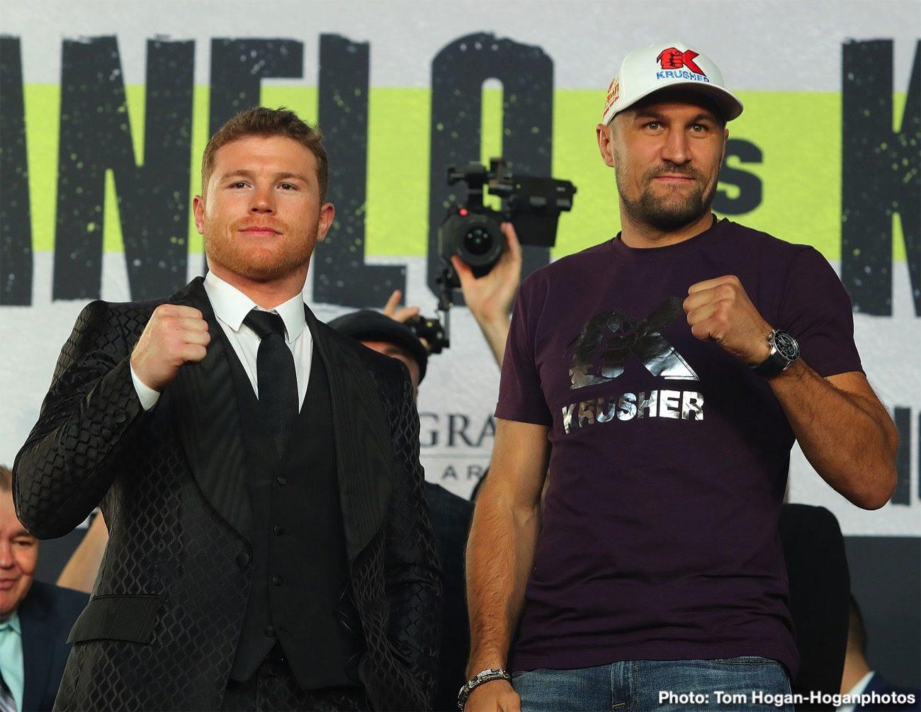 Canelo Alvarez Canelo vs. Kovalev