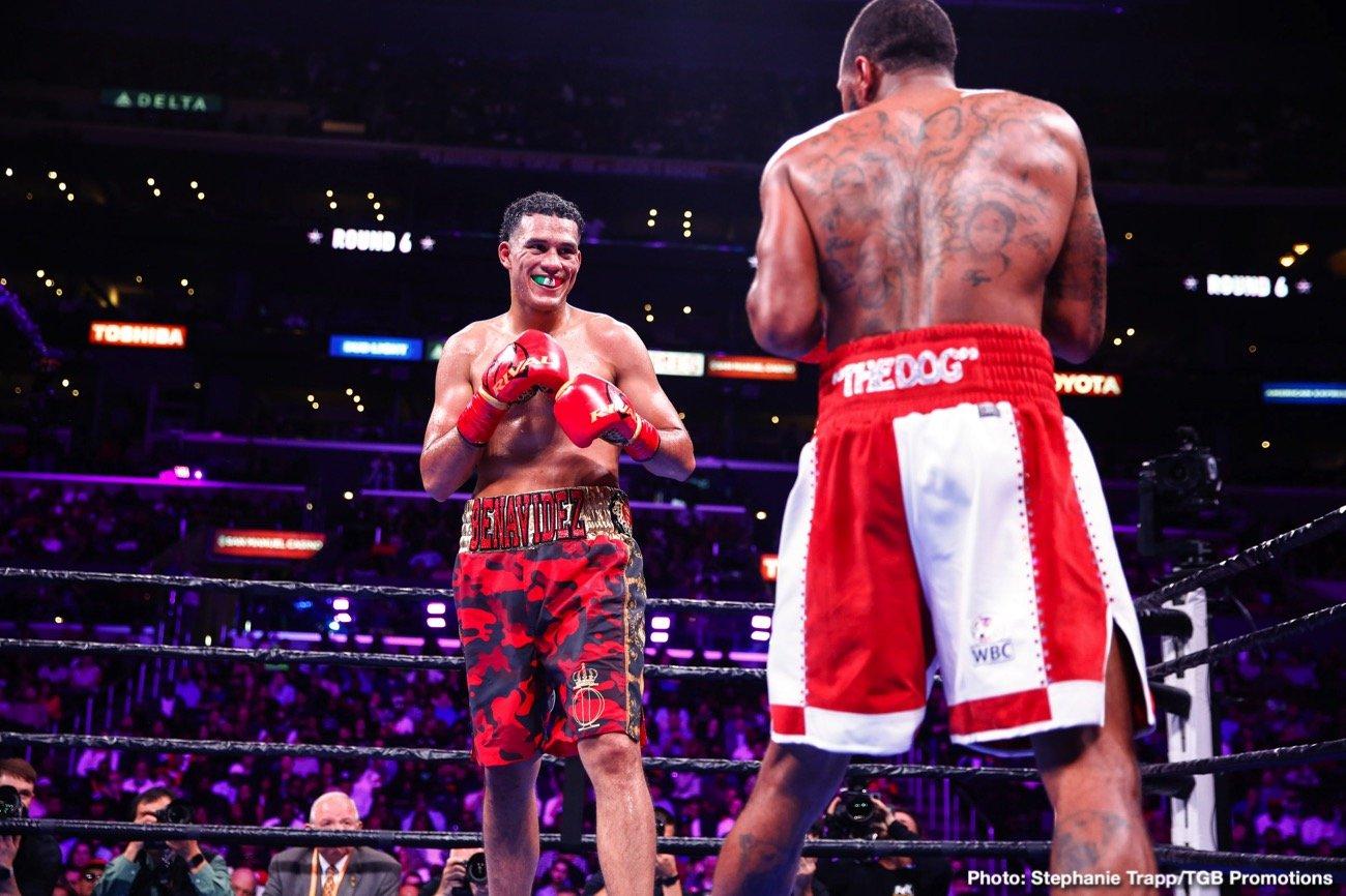 David Benavidez to defend against Caleb Truax on April 19 on Showtime ⋆ Boxing News 24