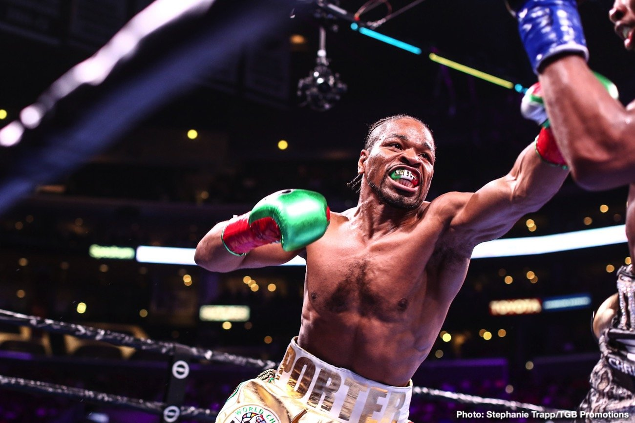 Manny Pacquiao Shawn Porter