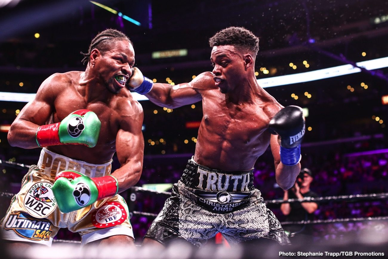 Manny Pacquiao Shawn Porter Terence Crawford