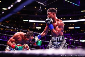 Errol Spence is too big for Terence Crawford says Jermell Charlo