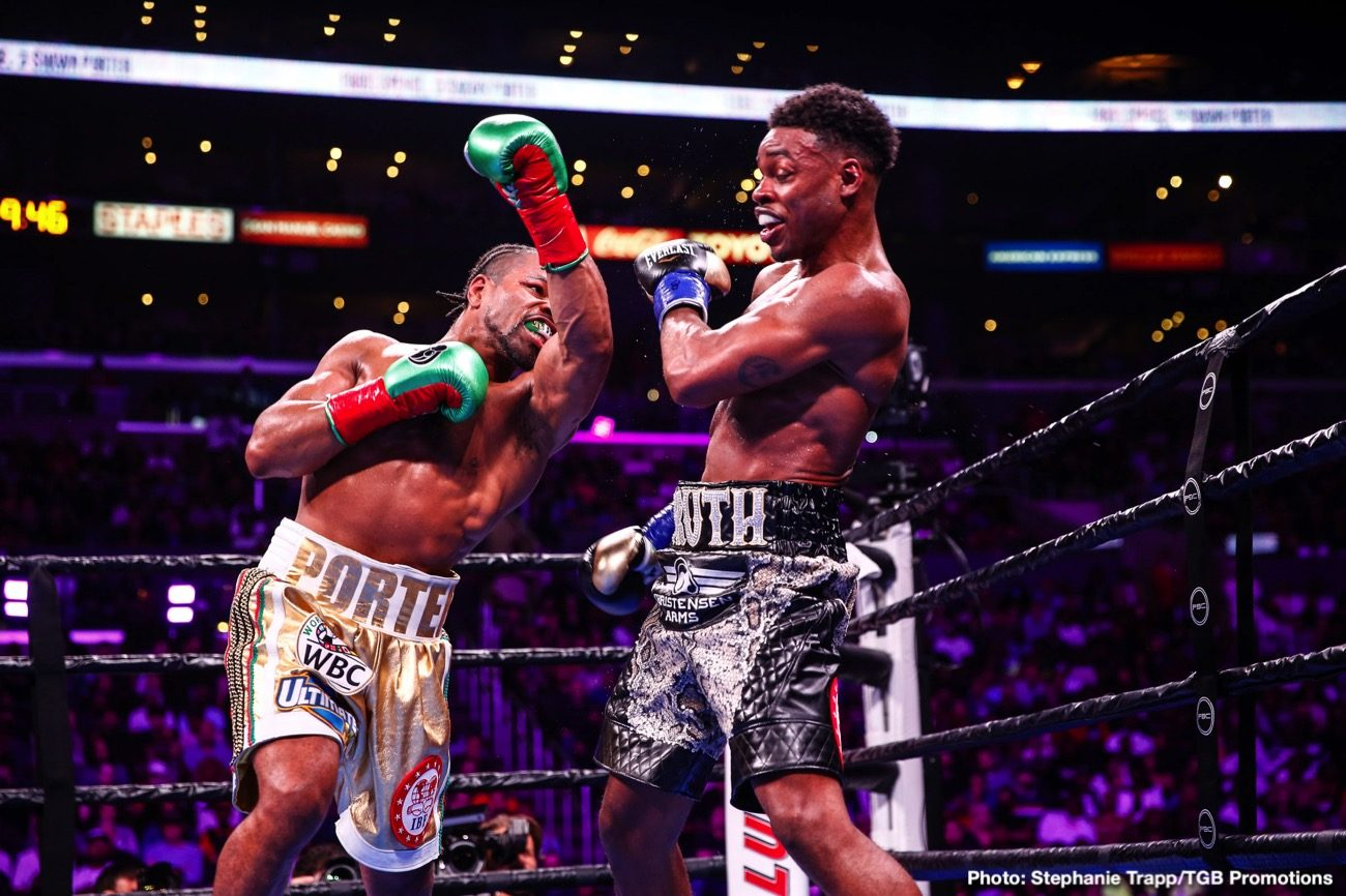 Danny Garcia Errol Spence Jr Shawn Porter