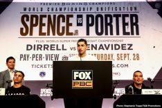 - Latest Errol Spence Jr John Molina Robert Guerrero Shawn Porter