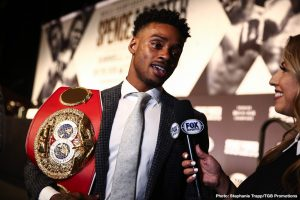 "Errol Spence threatens to Go ""Rogue"" if Manny Pacquiao faces Mikey Garcia"