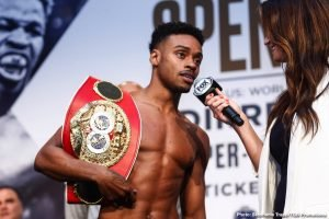 Errol Spence says he's going to 'tune up' Danny Garcia