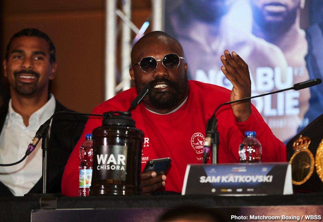 Derek Chisora Joseph Parker Chisora vs. Parker Josh Taylor Matchroom Boxing Regis Prograis Sky Sports Box Office