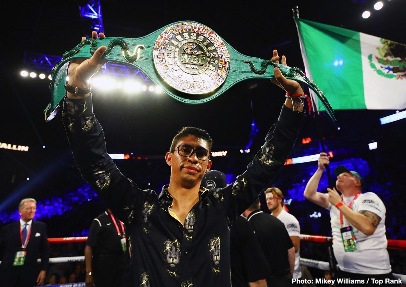 Latest PBC Premier Boxing Champions Rey Vargas