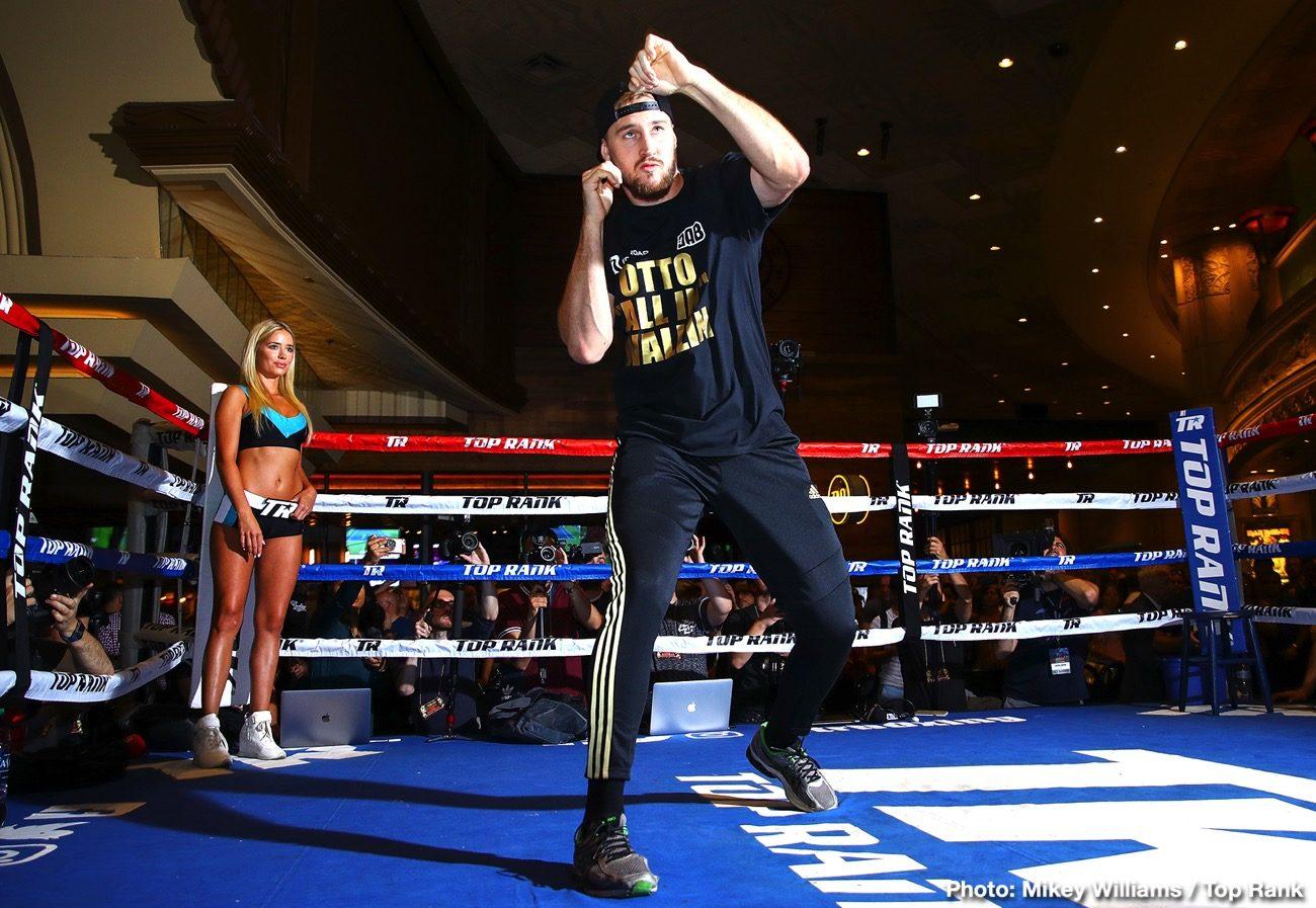 Tyson Fury ESPN Fury vs. Wallin Otto Wallin top rank