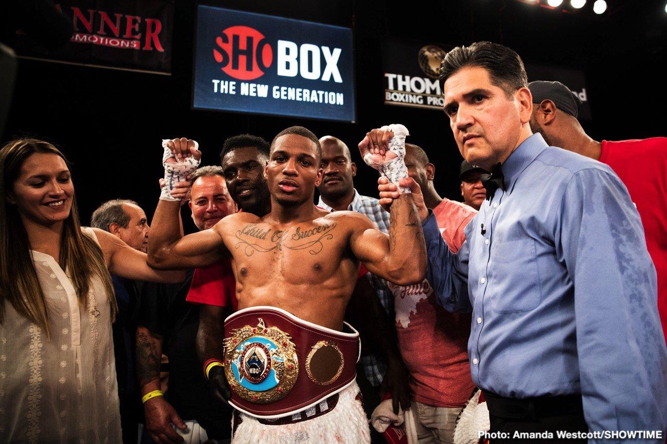 - Latest Isaac Cruz Gonzalez Mattice vs. Gonzalez Showtime Boxing Thomas Mattice