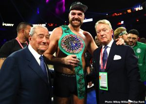 Tyson Fury won't sign contract until money guaranteed by bank