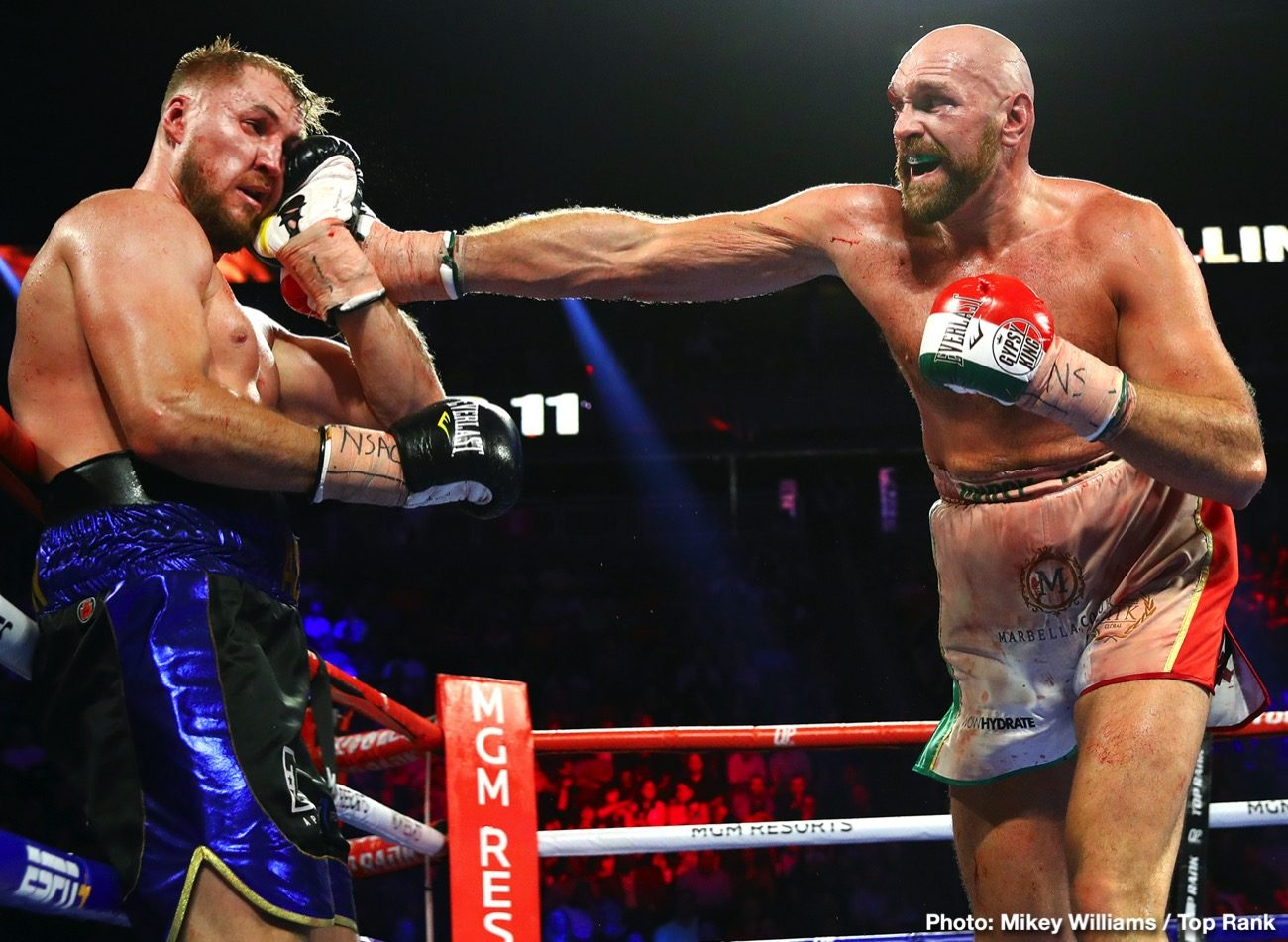 Deontay Wilder Tyson Fury Fury vs. Wallin Otto Wallin Wilder vs. Fury
