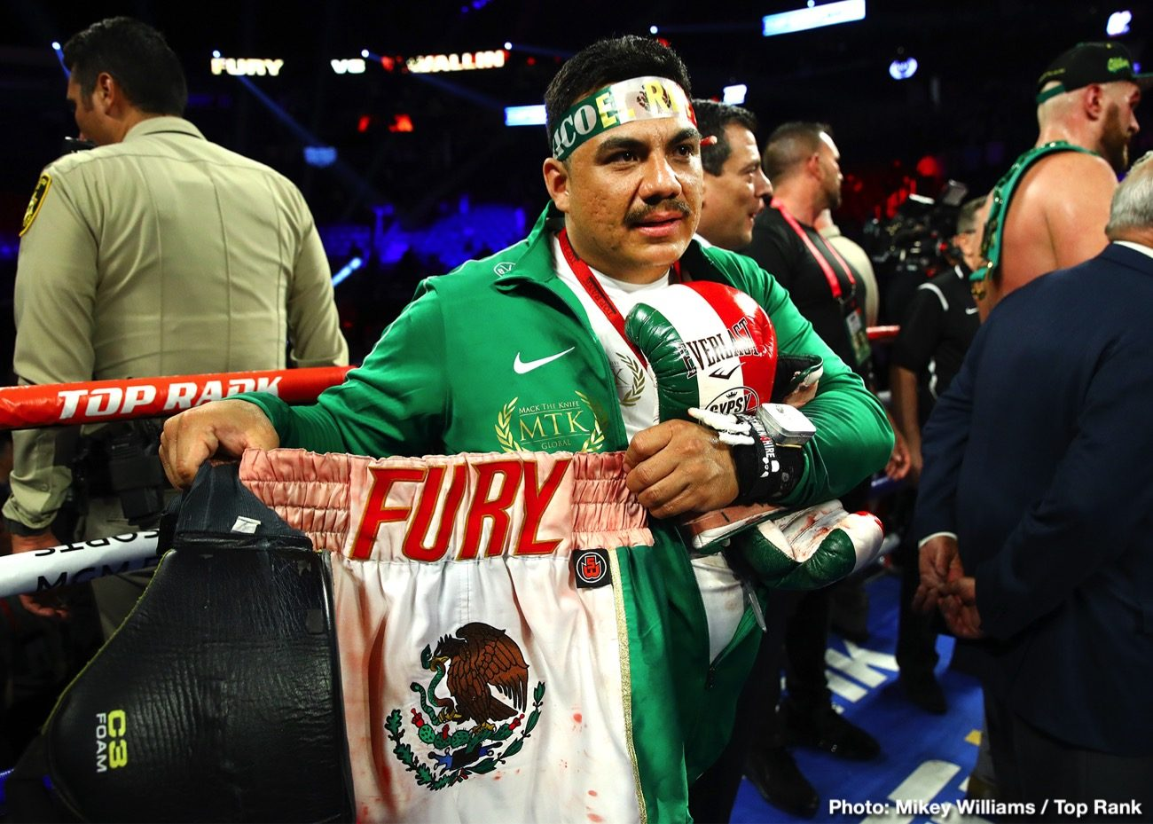 Tyson Fury ESPN Fury vs. Wallin Jorge Capetillo Otto Wallin top rank