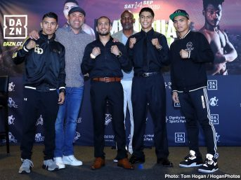 - Latest Avery Sparrow Garcia vs. Sparrow Golden Boy Promotions Jaime Munguia Munguia vs. Allotey Patrick Allotey Ryan Garcia