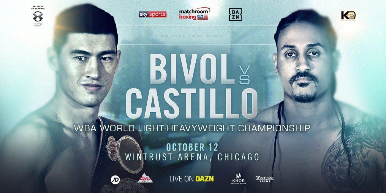 - Latest Aleksandr Usyk Bivol vs. Castillo DAZN Dmitry Bivol Lenin Castillo Sky Sports Tyrone Spong Usyk vs. Spong