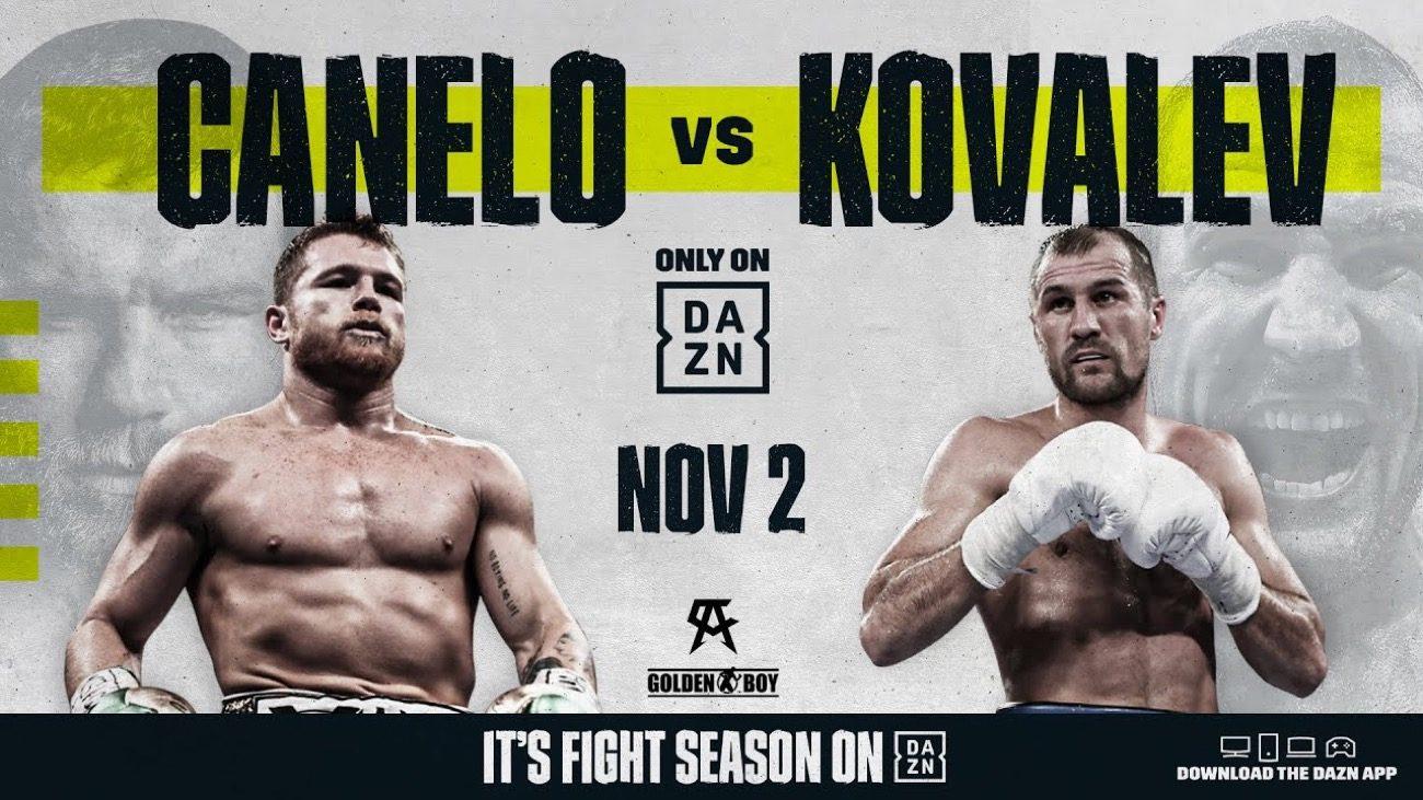 Andre Ward Canelo Alvarez Sergey Kovalev Canelo vs. Kovalev