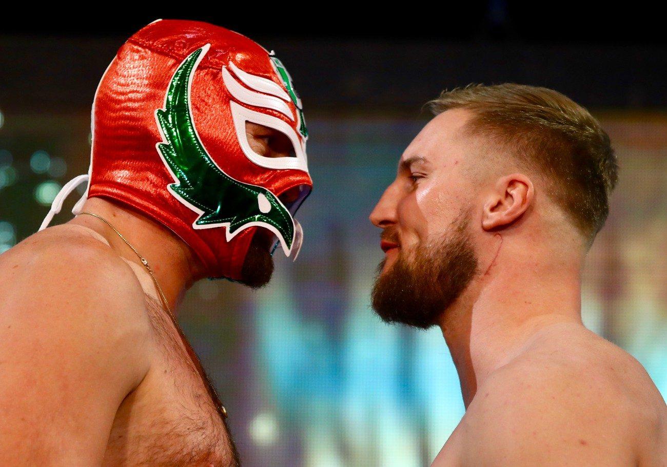 Tyson Fury Bob Arum Eddie Hearn Fury vs. Wallin Otto Wallin top rank